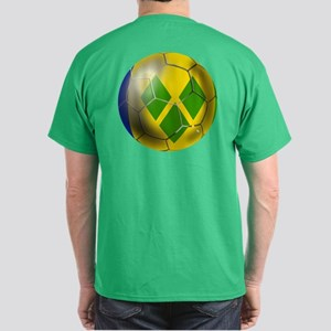 Saint Vincent Football Dark T-Shirt